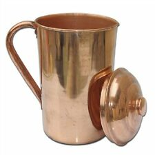 Traveller's 100 % Pure Copper Water Jug for Ayurvedic Health Benefits