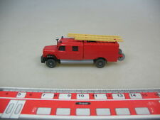o614-0, 5 #Wiking H0 Model GK 610/31 (61N) Engine Car Saturn Fire Brigade
