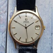 Omega 9ct Solid Gold Automatic Men's Watch With 9ct Sold Good Omega Buckle