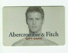 Abercrombie & Fitch Gift Card - Blonde Shirtless Guy - No Value - I Combine Ship