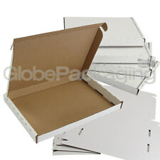 25 x WHITE C5 SIZE PIP LARGE LETTER CARDBOARD POSTAL MAIL BOXES 222x160x20mm