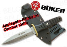 Boker Applegate Fairbairn Combat Boot Knife with Kydex sheath Tek-Lok 120546 NEW