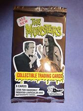 1997 THE MUNSTERS Collector Cards Series 2 Pack (x1)  Mint from Box!