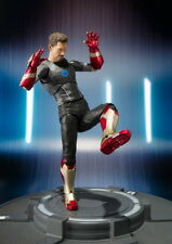 Figura Tony Stark Iron Man Tony's Action Figure Marvel Colección + Caja