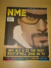 NME 2000 APR 29 ALI G NEIL YOUNG FATBOY SLIM WELLER