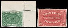 Canada #E1-E2 1898-1922 Special Delivery Pair CV$230