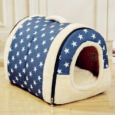 Pet Dog House Nest Cat Bed Warm Puppy Soft Mat Kennel Cave Sleeping Pad Medium