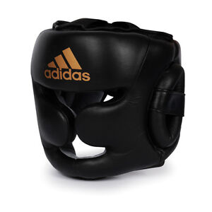 adidas Boxing Leather Training Headguard