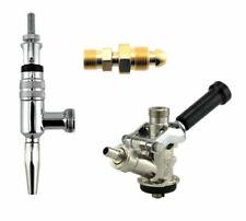 European Murphy's Conversion Kit- Draft Beer Kegerator Faucet, Coupler + Adapter