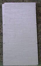 AUHAGEN HO scale ~ 'CONCRETE' ~ PLASTIC DECOR SHEETS #52434