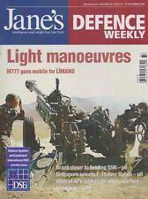 Jane's Defence Weekly (September 2005) (Singapore AF, Wildcat AFV, M777)