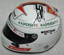 Sebastian Vettel - Autographd - Signed Replica 1/2 2015 Ferrari F1 Helmet