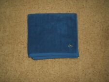 """LACOSTE 1pc BATH TOWEL BLUE GATOR 30"""" x 54"""" NWT"""