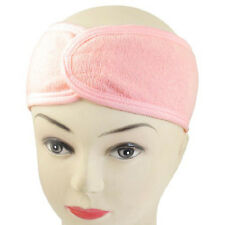 New Pink Spa Bath Shower Make Up Wash Face Cosmetic Headband Hair Band LW