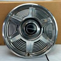 "Ford Mustang 13"" Hubcap 1965 1966 Hub Cap Wheel Cover Black Center Cap 1 Pc"
