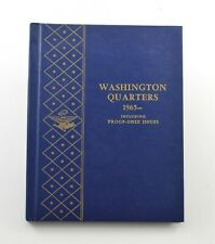 Used Whitman 1965-To Date Washington Quarters Empty Coin Album Book - 9 Oz. *106