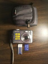 Sony Cyber-shot DSC-S700 Digital Camera 7.2MP with Case - Tested