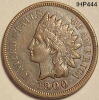 1900 Indian Head Penny Cent