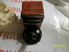 TRIUMPH ,LUCAS 54415655 AUTO ADVANCE SHAFT AND PLATE  NOS BRITISH PART