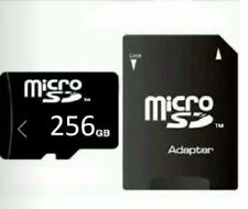 256 GB MICRO SD-SPEICHERKARTE + Adapter. CLASS 10! NEU! 256 GB!