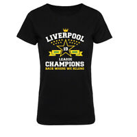 LiverPool T Shirt 2020 Champion Women Casual Tees Team Inspired Womens t shirt