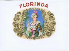 Florida good leaf Heywood Strasser & Voigt Germany  original unused cigar label