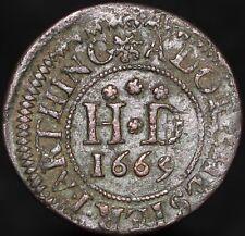 More details for 1669   dorchester farthing token   tokens   km coins