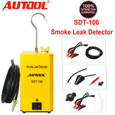 Autool SDT106 Car Motorcycle Smoke Automotive Diagnostic Leak Detector Pipe EVAP