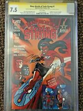 The Many Worlds of Tesla Strong CGC SS 7.5 signed X5 (Hughes,Golden,Noto,ect.)