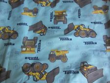 Tonka Trucks Fitted Crib Sheet Baby Nursery Bedding