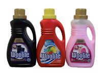 WOOLITE 1L 16 WASH CLOTHES LAUNDRY LIQUID DETERGENT FABRIC HAND / MACHINE WASH