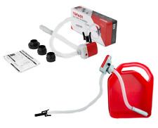 Terapump Fuel Gas Tank Transfer Pump Battery Operated Auto Stop & Leak TRFA01