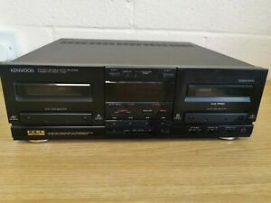 Kenwood X-83 Stereo Cassette Deck Stack System Separates