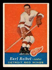 EARL REIBEL 57-58 TOPPS 1957-58 NO 45 EX+ 15498