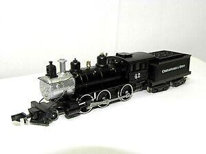 N Roundhouse 8061 2-6-0 Chesapeake & Ohio Locomotive #42 (Tested) NIB