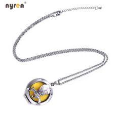 Multi Pattern Perfume Aroma Pendant Necklace Perfume Metal Locket Diffuser