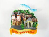 Heidelberg Magnet Reise Souvenir Germany,Schloss,Heiliggeistkirche