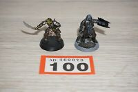 LOT 100 - Warhammer - Lord Of The Rings Gorbag & Shagrat - Metal Painted