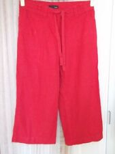 Wide Leg Viscose Capri, Cropped Trousers NEXT for Women