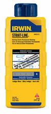 Irwin  Strait-Line  8 oz. Permanent  Marking Chalk  Blue  1 pk