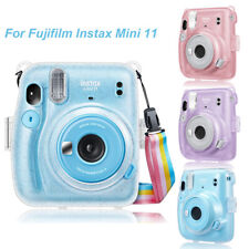 For Fujifilm Instax Mini 11 Instant Camera Crystal Clear Case Hard PVC Cover