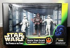 Death Star Escape Wars Chewbacca Stormtroopers Playset 1997 69737 Potf Nuevo