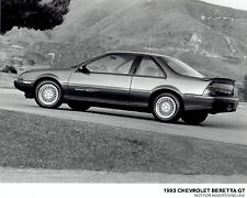 1993 Vintage Photo Chevrolet Beretta GT coupe car with Goodyear Eagle GA Tires