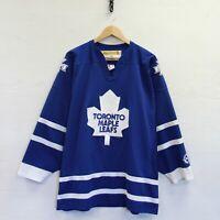 Vintage Toronto Maple Leafs Koho Jersey Size XL Blue NHL Hockey