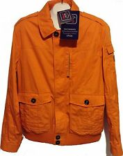 Paul&Shark Yachting AUTHENTIC Men's Orange Italy Coat Jacket EMW Sz XL $919