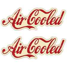 Air cooled Aged Laminated Stickers 200mm Camper Beetle Surfer Retro Aircooled R