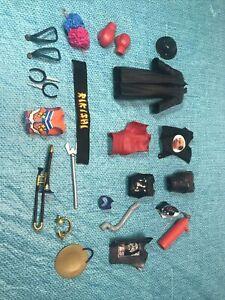 WWE Mattel Wrestling Figure Accessories Lot OF 24 pcs WWF Jakks