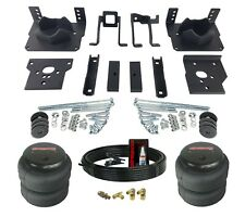 Air Helper Spring Kit Bolts On 11-16 Ford F250 F350 2wd No Drill Over Load Level