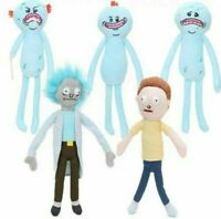 Rick and Morty plush toys Happy Sad Foamy Meeseeks Stuffed Plush Toys Gift