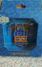 Disneyland 60th Anniversary Jumbo Pin July 17 2015 Box Tinkerbell Diamond LE500